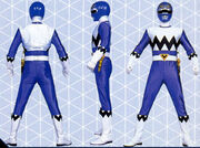 Blue Galaxy Ranger Form