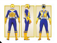 Gold Ranger Form