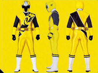 Yellow Ninja Steel Ranger Form