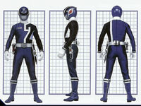 SPD Blue Ranger Form