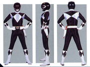 Black Ranger Form