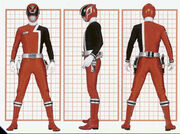 SPD Red Ranger Form