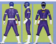 Blue Turbo Ranger Form