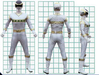 Silver Space Ranger Form