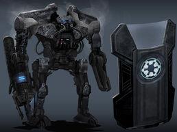 Carbonite War Droids