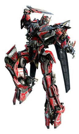 Sentinel Prime Attacking