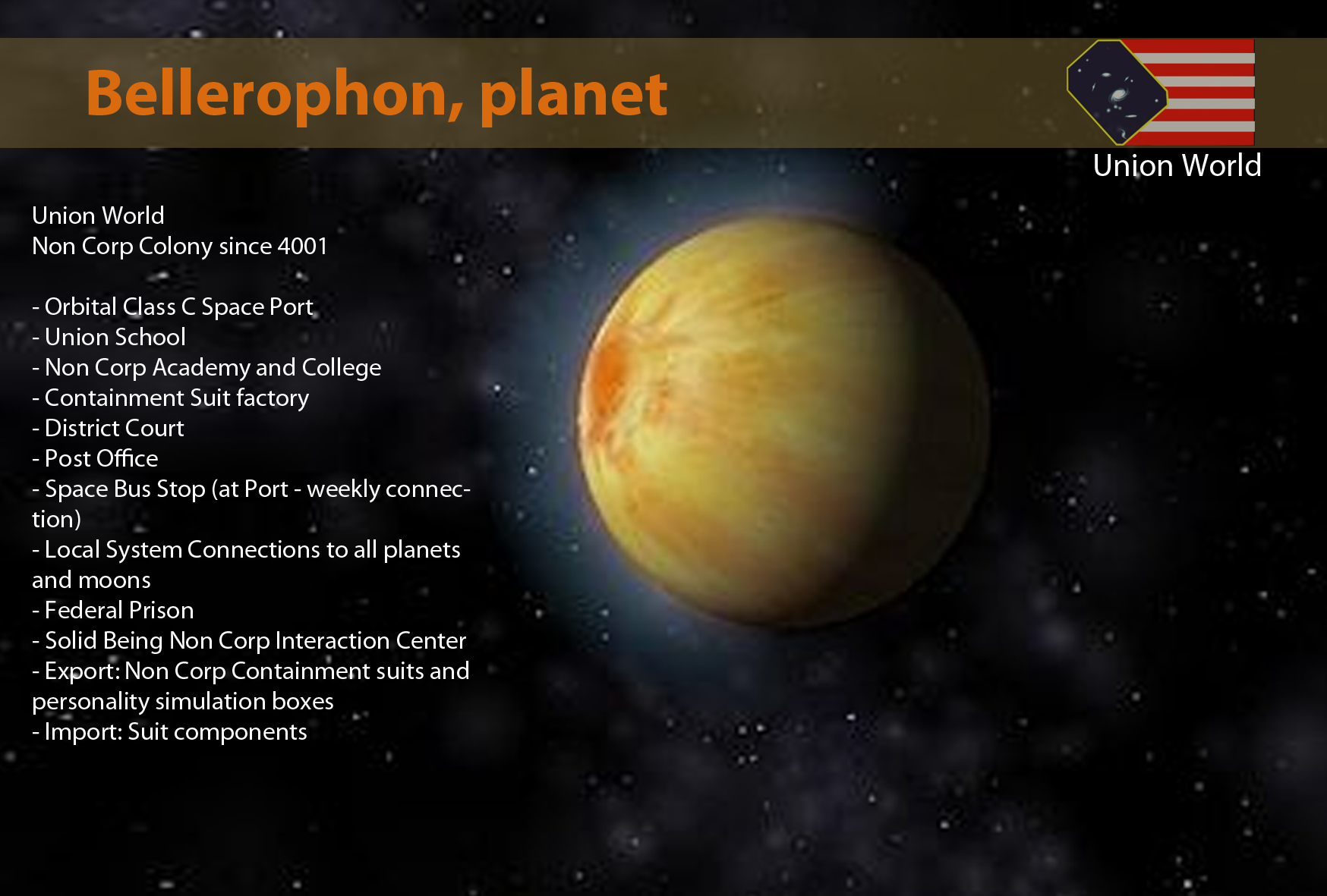 Bellerophon Planet Galnet Wiki Fandom Powered By Wikia