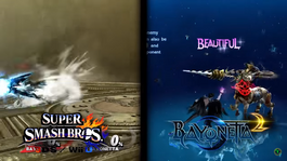 Bayonetta screen