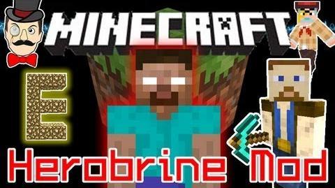 Minecraft HEROBRINE Mod! Chuck Norris Sighting, Herobrine Traps..