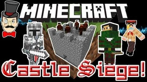 Minecraft Mods - CASTLE DEFENDERS Mod! Lay Siege to Enemy Castles with Mercenaries!