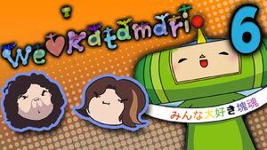 We Love Katamari Part 6 - Flame On