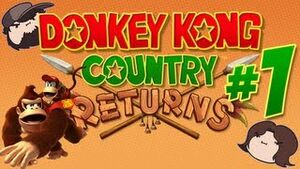 Donkey Kong Country Returns 1