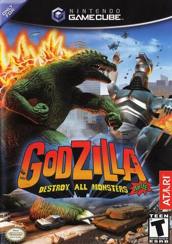 Godzilla Destroy All Monsters Melee BA