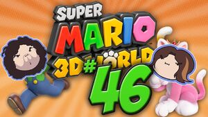 Super Mario 3D World Part 46 - Vest of Friends