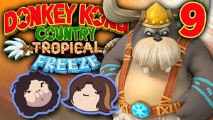 Donkey Kong Country Tropical Freeze Part 9 - Over The Edge