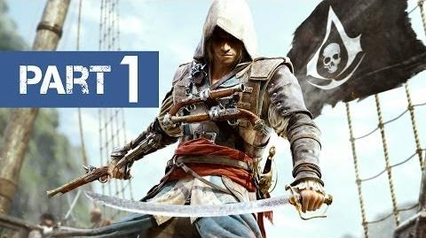 Assassin's Creed 4 Black Flag Gameplay Walkthrough - Part 1 Introduction Prologue (Xbox PS3 PC)