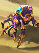 Jeweled Scarab