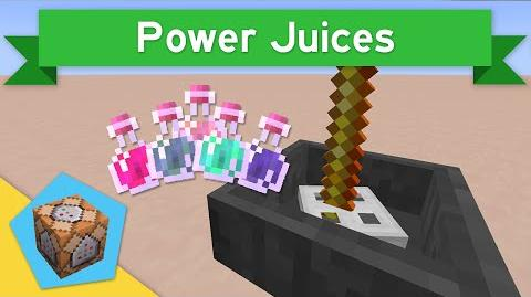 POWER JUICES in Vanilla Minecraft 1.9 Power Juices