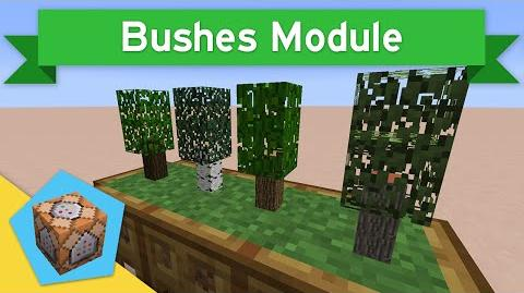 TINY TREES in Vanilla Minecraft 1.9 Bushes Module