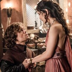 Tyrion i Shae.