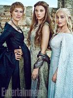 EW Cersei Margaery Daenerys