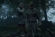 Arya and Sandor - Mockingbird -1