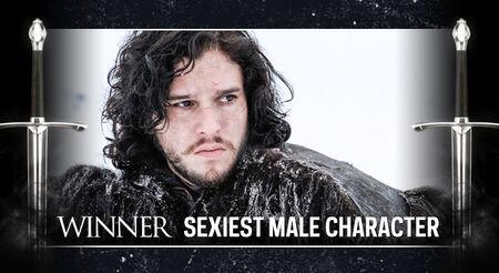 GOT AwardFrame SexiestMale