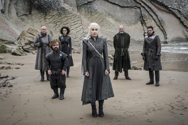 File:Daenerys-Jon-Varys-Missandei-Tyrion-Spoils-of-War.jpg