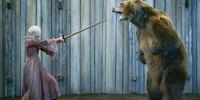 シーズン3第7話「女剣士と熊」