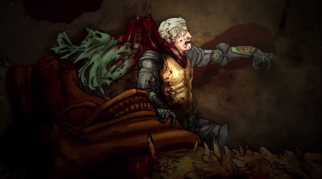 File:Aegon II and Sunfyre badly injured.png