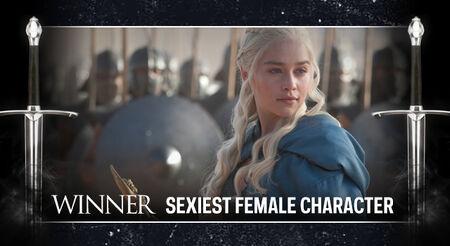 GOT AwardFrame SexiestFemale