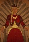 Queen Rhaenyra on the Iron Throne