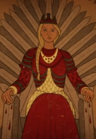 File:Queen Rhaenyra on the Iron Throne.png