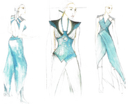 Daenerys costume concept art Season 4