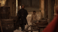 Arya and Yoren 1x10.png