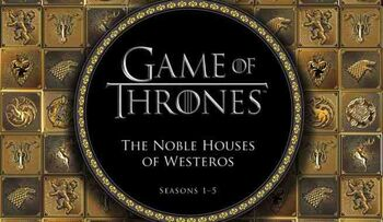 Noble Houses of Westeros cover