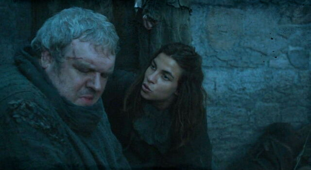 File:Osha trying to calm down hodor.jpg