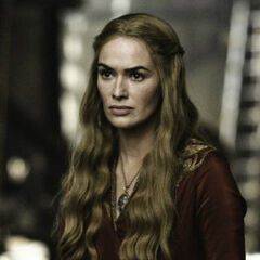 A promotional image of Cersei in