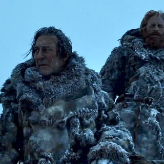 Wildlings from the vast Haunted Forest, like Mance and Tormund, wear heavy animal furs.