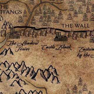 Девятнадцать замков на стене, Чёрный замок почти посередине.
