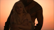 Daenerys is stripped on her wedding night