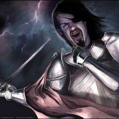 Lucius in battle