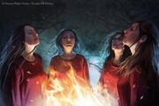 Red priestesses