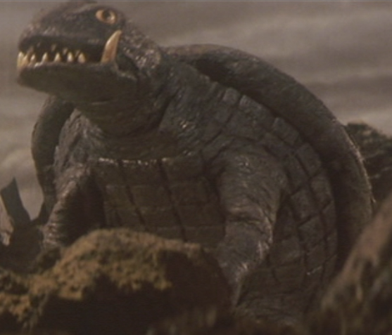 File:Gamera - 5 - vs Jiger - 15 - Gamera survived the flying Jiger.png