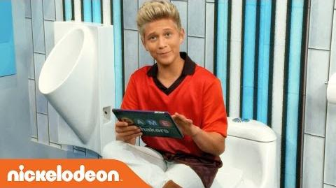 Thomas Kuc Gives a Tour of the Game Shakers Bathroom!? Nick
