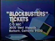 Blockbusters '87 ticket plug