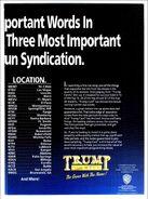 Trump Card ad 2
