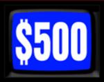 Jeopardy! 1984-1985 $500 Dollar Figure