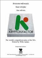 The Krypton Factor '90 ad