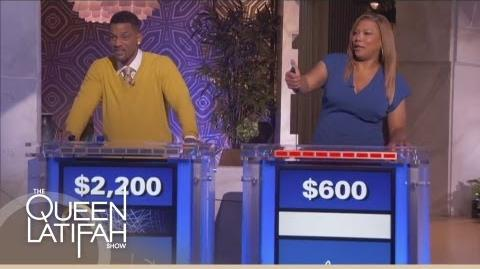Will Smith and Queen Latifah Jeopardy Face-Off on The Queen Latifah Show